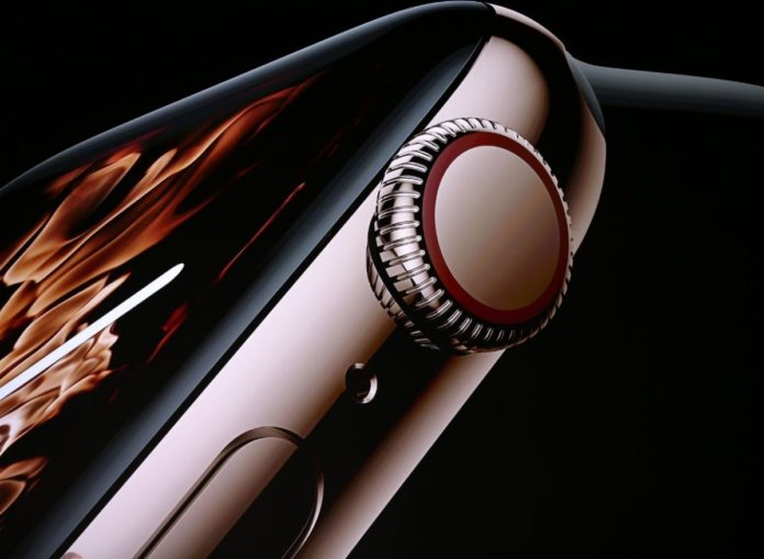 Первая новинка презентации Apple — новые Apple Watch Series 4