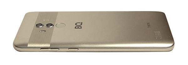 BQ представил новый флагманский смартфон с Full HD-экраном