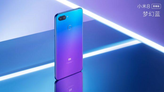 Xiaomi представила большой и красивый молодежный смартфон Xiaomi Mi 8 Lite
