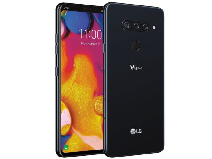 Новый флагман LG V40 ThinQ показался на официальном фото