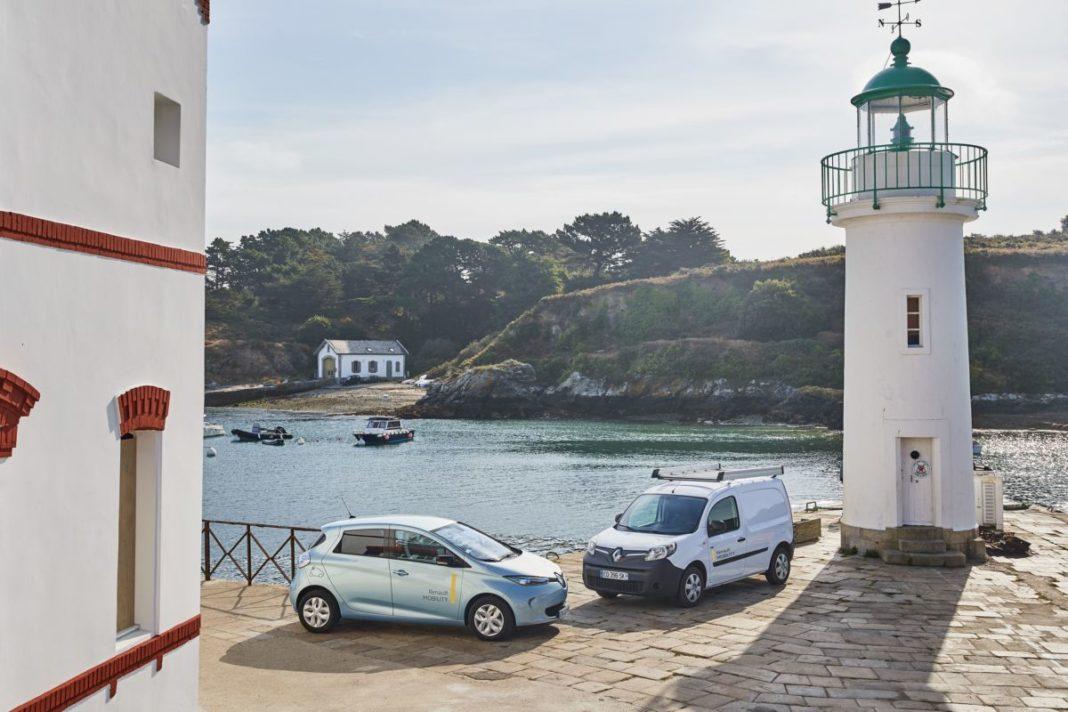 Renault оборудует во Франции «умный электроостров»