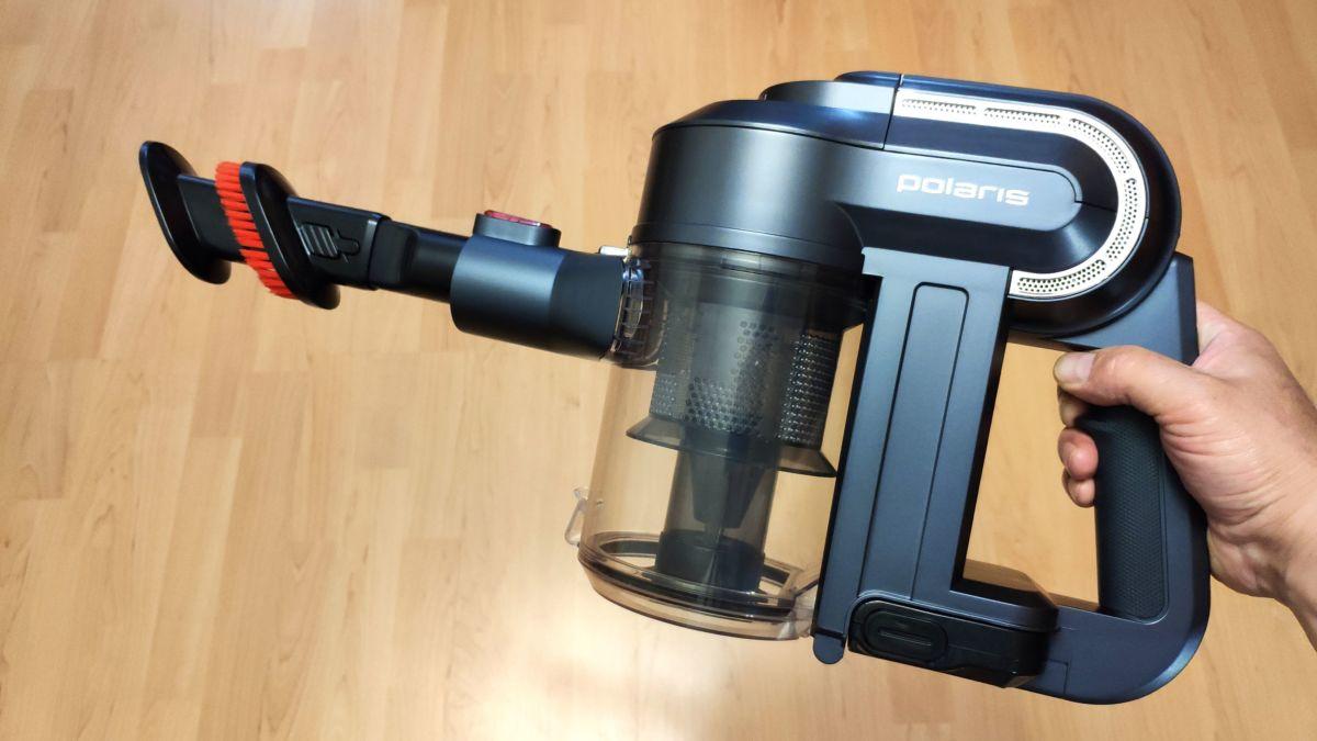 Тест портативного пылесоса Polaris PVCS 0922HR: комфортная уборка за 30 минут