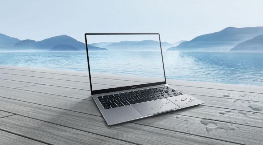 Huawei представила первый в мире безрамочный ноутбук