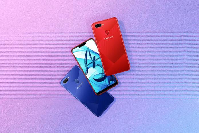 Начинаются российские продажи недорогого смартфона Oppo A5