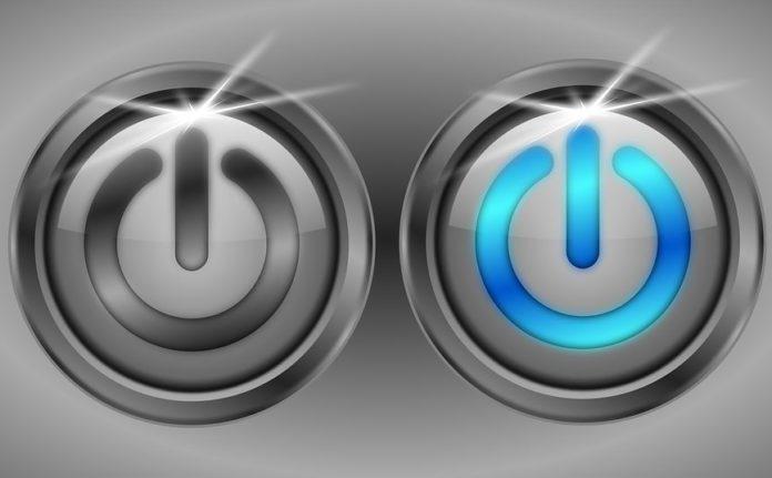Что означает символ на кнопке питания?