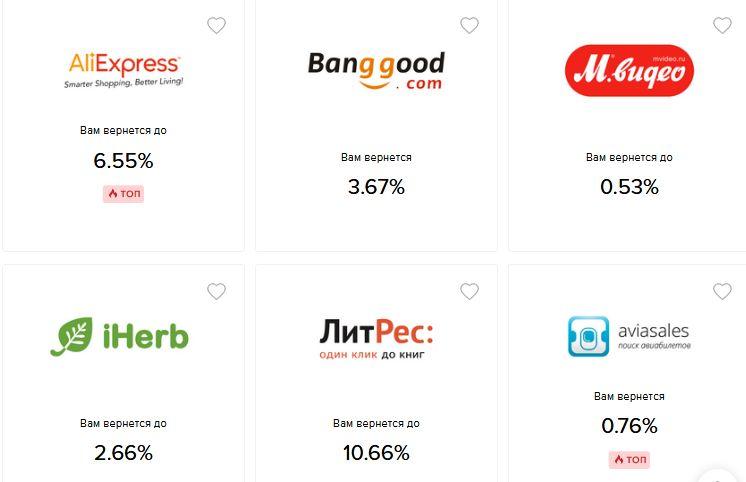 Лучшие кэшбек-сервисы для покупок в интернете