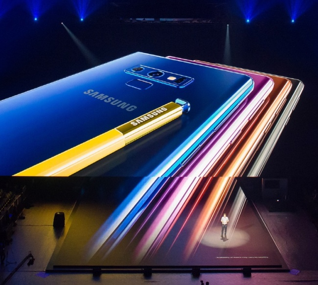 Samsung Galaxy Note 10 получил кодовое имя da Vinci