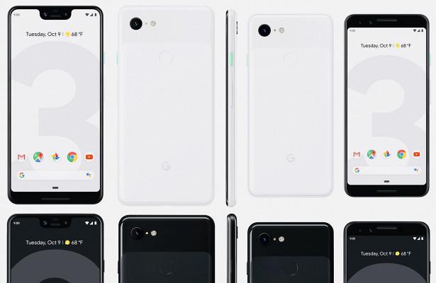 Google Pixel 3 и Pixel 3 XL представлены официально