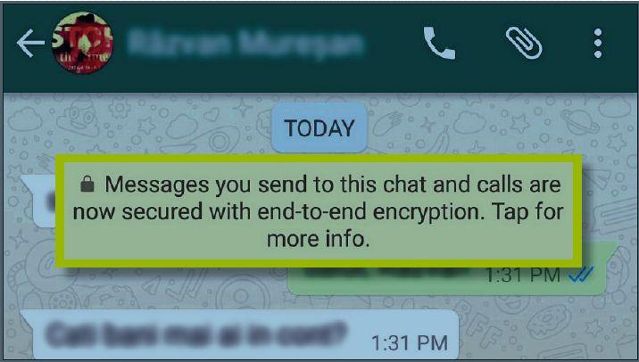 Изменение кода безопасности контакта в WhatsApp может указывать на взлом аккаунта