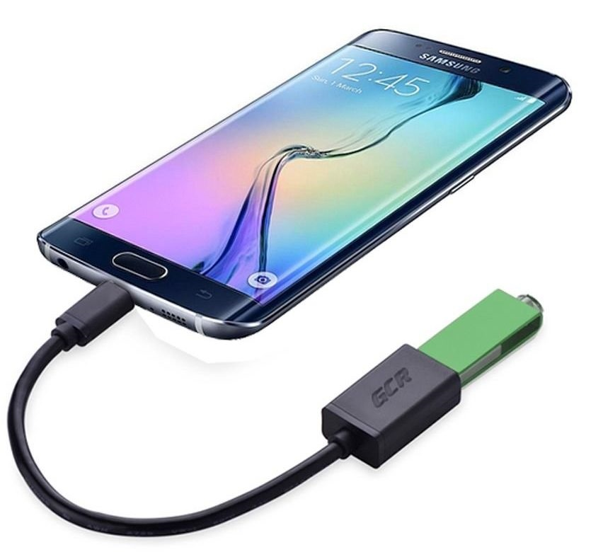 Как подключить USB-флешку к смартфону