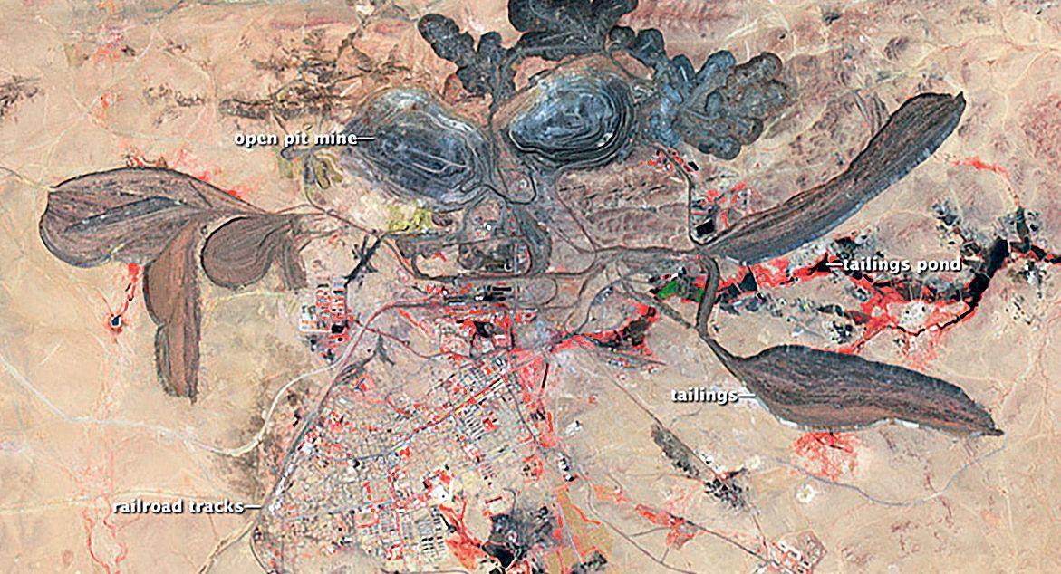 Рудник Баян-Обо (Китай) - здесь добывают редкоземельные элементы