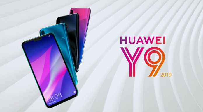 Huawei представила большой и долгоиграющий смартфон Huawei Y9 2019