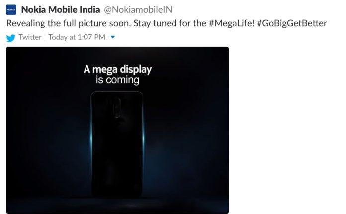 Nokia вскоре представит смартфон с «мегадисплеем»