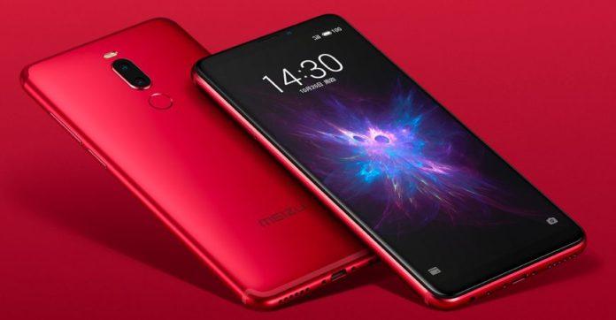 Новый 6-дюймовый смартфон Meizu Note 8 оценен в 12 000 руб.