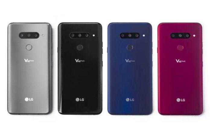Официально представлен флагманский смартфон с пятью камерами LG V40 ThinQ