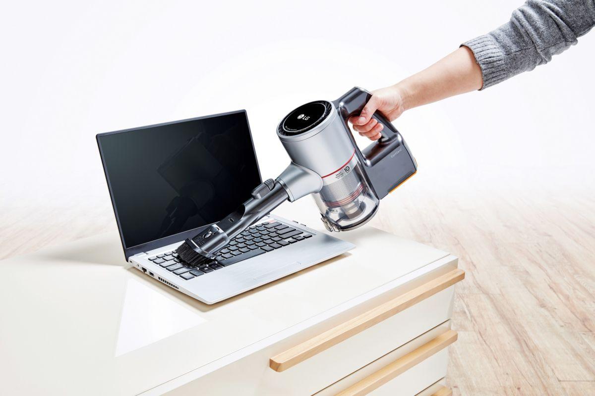 LG объявила о старте продаж беспроводного вертикального пылесоса LG CORDZERO A9