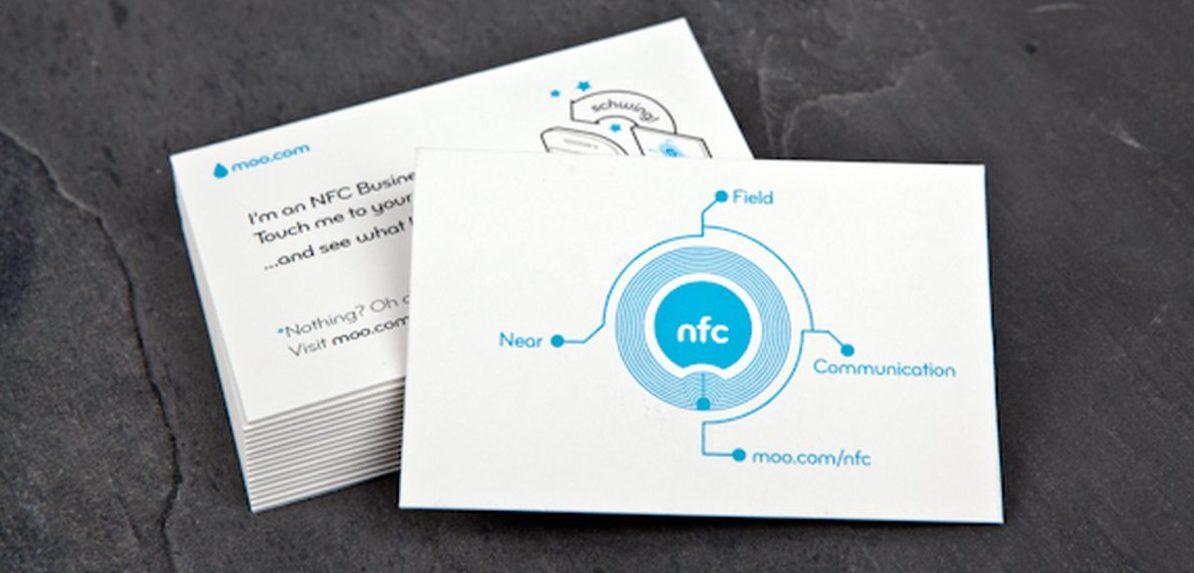 визитки NFC