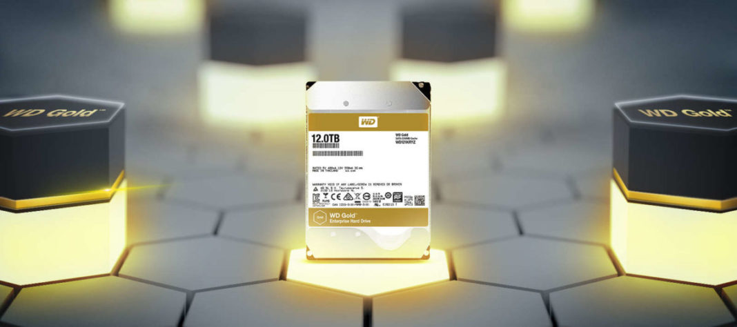 Тест и обзор Western Digital Gold 12TB: быстрый SATA-диск по цене золота