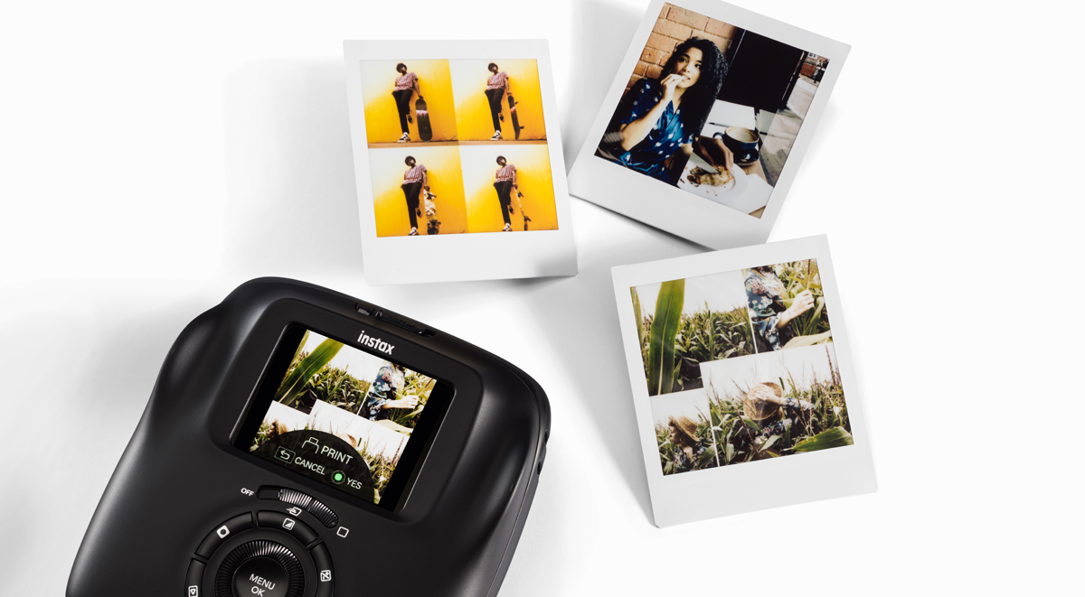 Фотокамера Fujifilm Instax Square SQ20: снимает видео, печатает фото