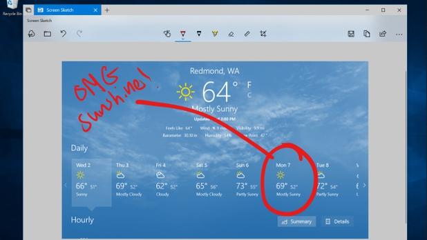 Windows 10 получила новую скриншот-утилиту