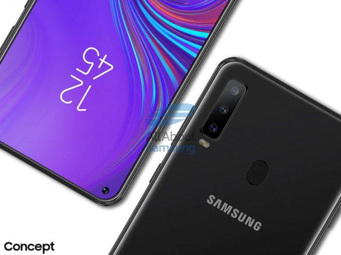 Раскрыты характеристики первого смартфона Samsung с «дыркой»