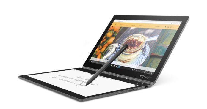 Начались российские продажи крутого ноутбука Lenovo с дисплеем e-ink вместо клавиатуры