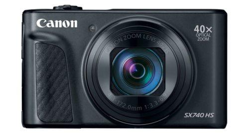 тест обзор canon powershot sx740 мегазумная камера карманного