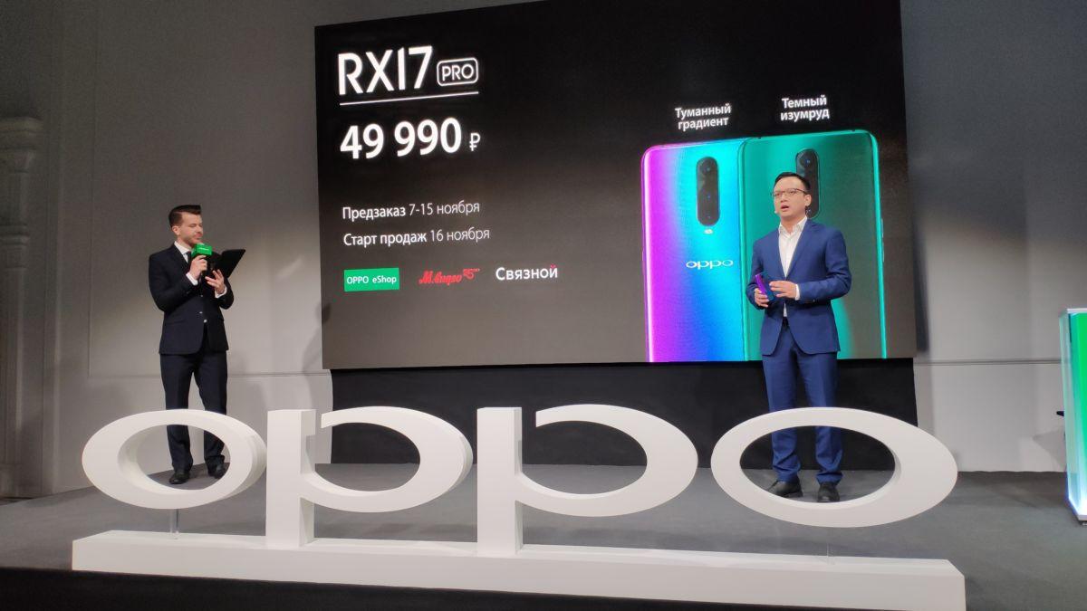 Новые смартфоны OPPO R-серии получили продвинутые камеры и быструю зарядку