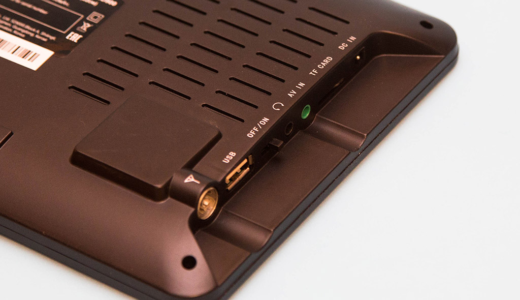 Обзор портативного телевизора Hyundai H-LCD900: видео без интернета