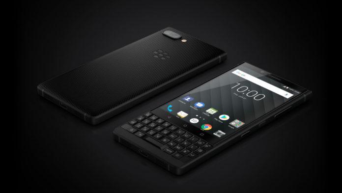 Начались продажи смартфона BlackBerry KEY2. Да, с клавиатурой