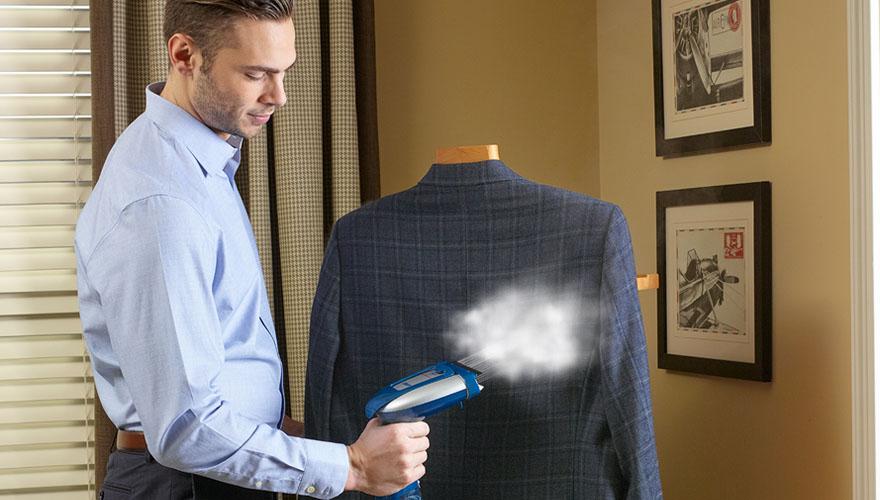 Ручной отпариватель для одежды: рейтинг лучших моделей для деловых поездок