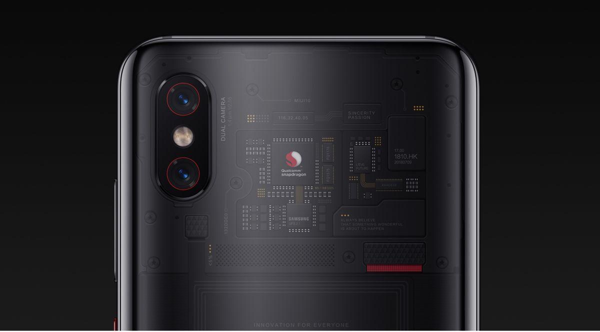 Что прячется под стеклянной крышкой Xiaomi Mi 8 Pro