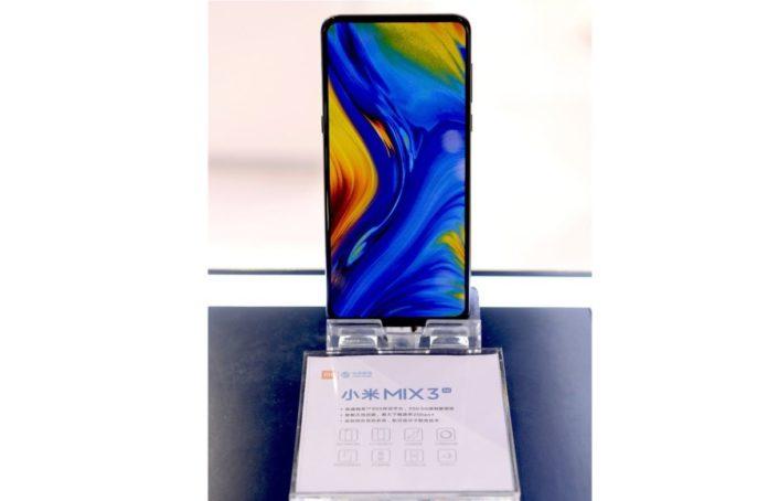 Xiaomi Mi Mix 3 5G первым в мире получил новейший флагманский процессор Snapdragon 855
