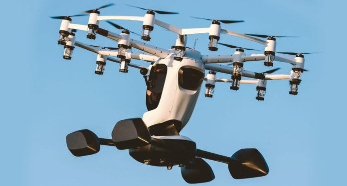 Персональный дрон можно будет взять в аренду