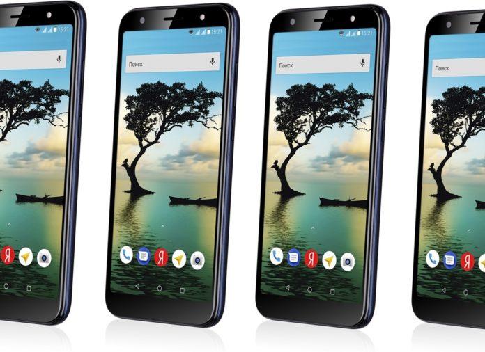 Смартфон Fly Slimline на Android Go можно купить всего за 5 990 руб.