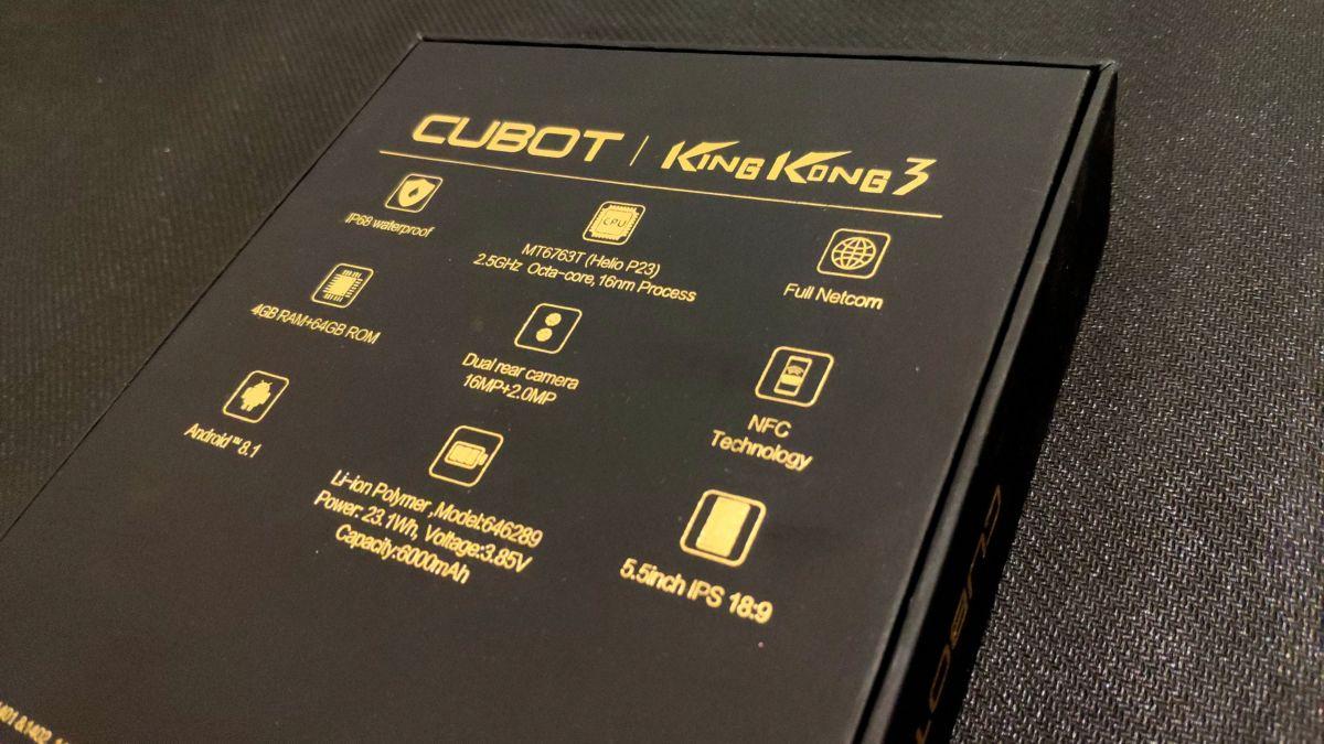 Тест и обзор Cubot King Kong 3: суперзащищенный смартфон с крутой начинкой
