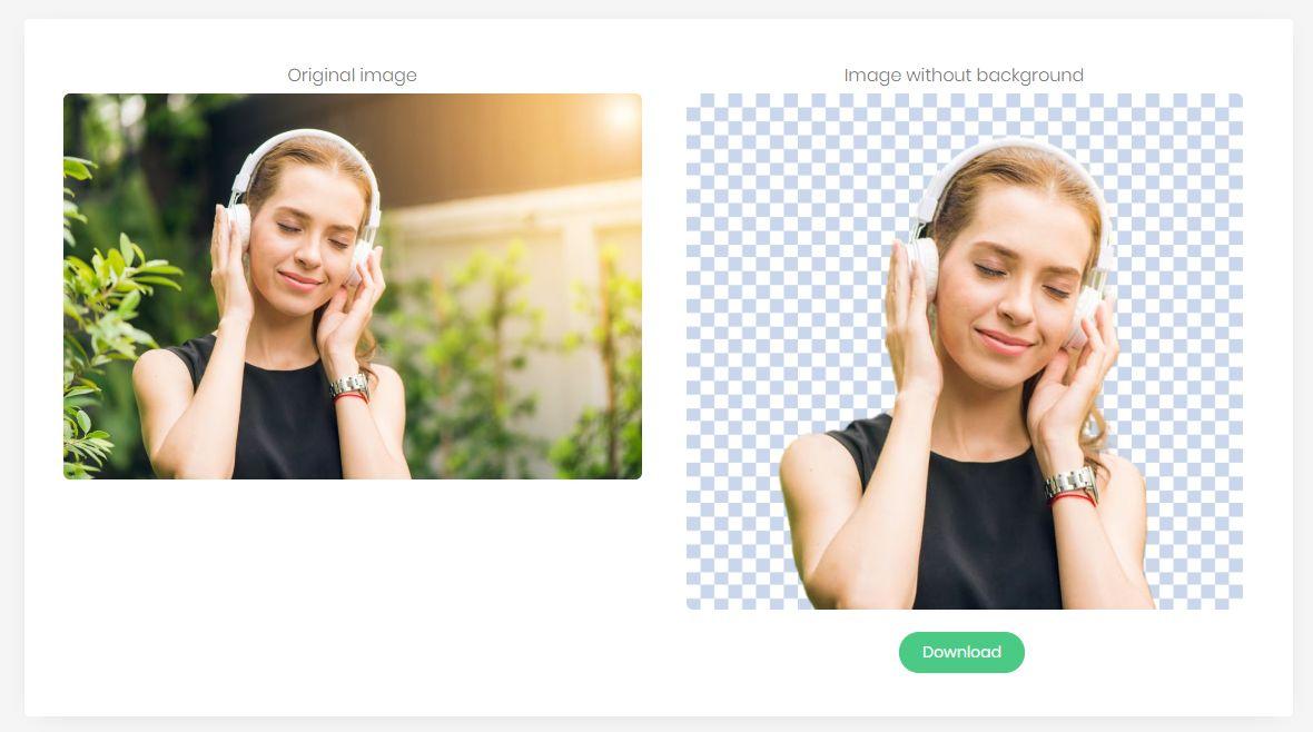 Как удалить фон с фотографии без Photoshop?