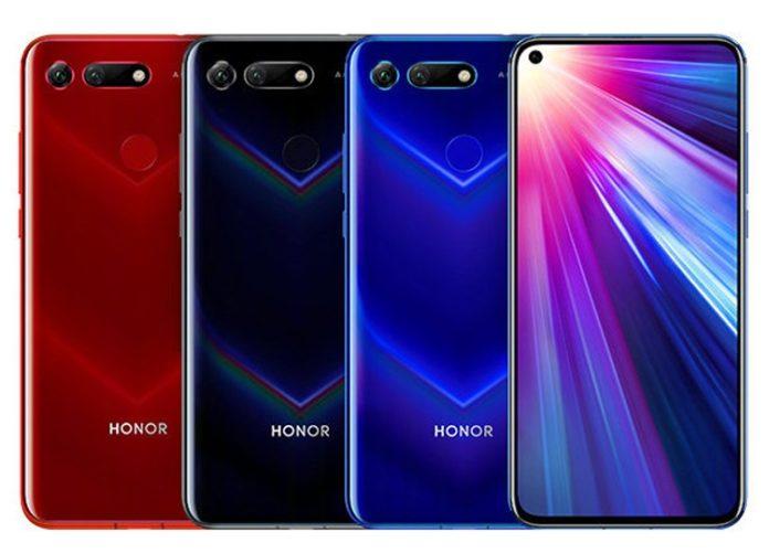 Huawei представила «дырявый» флагманский смартфон Honor V20