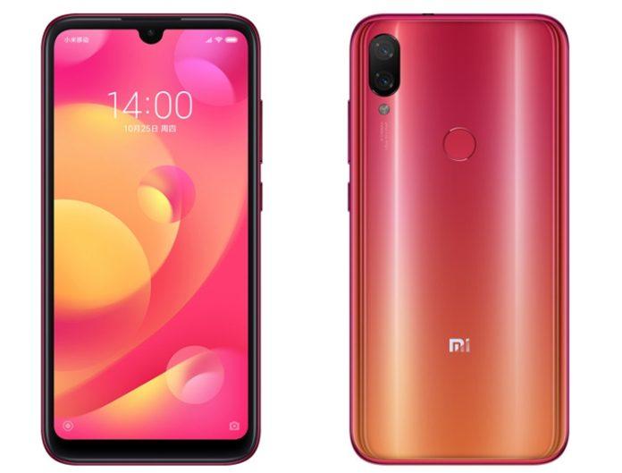 Новый смартфон Xiaomi Mi Play стоит дешевле 11 000 руб.