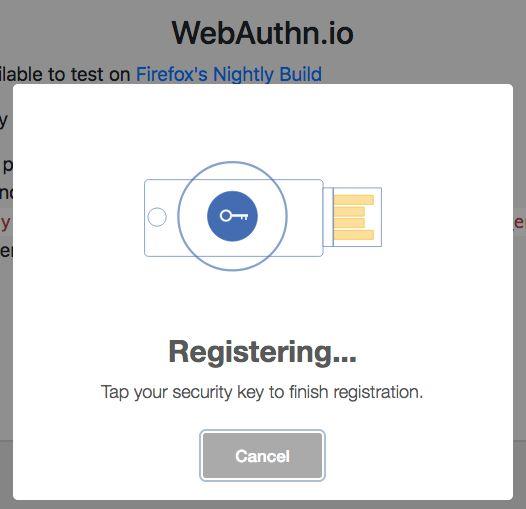 WebAuthn: пароли отменяются