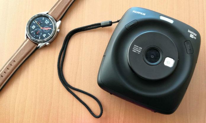 Обзор камеры моментальной печати Instax SQUARE SQ20