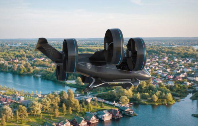 Помните вертолет из «Аватара»? В Лас-Вегасе показали почти такой же