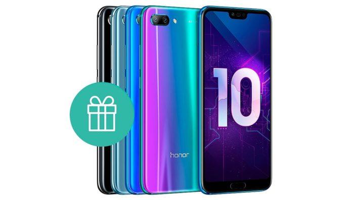 Huawei предлагает смартфон-бестселлер Honor 10 со скидкой и подарком в придачу