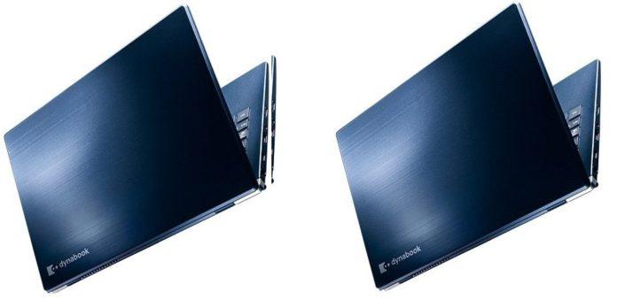 Sharp представила суперлегкий защищенный ноутбук Dynabook G