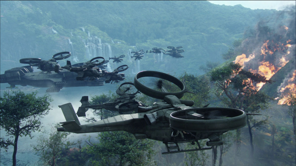 """Помните вертолет из """"Аватара""""? В Лас-Вегасе показали почти такой же"""