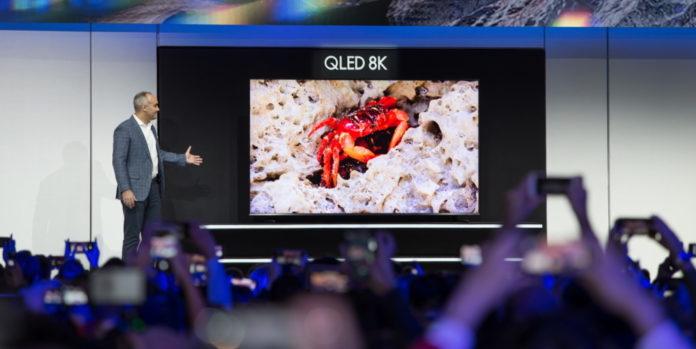 Samsung презентовала самый большой 8К QLED-телевизор