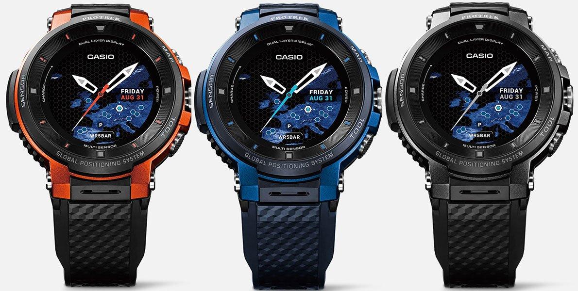 Обзор умных часов Casio WSD-F30: компас за 42 000 рублей
