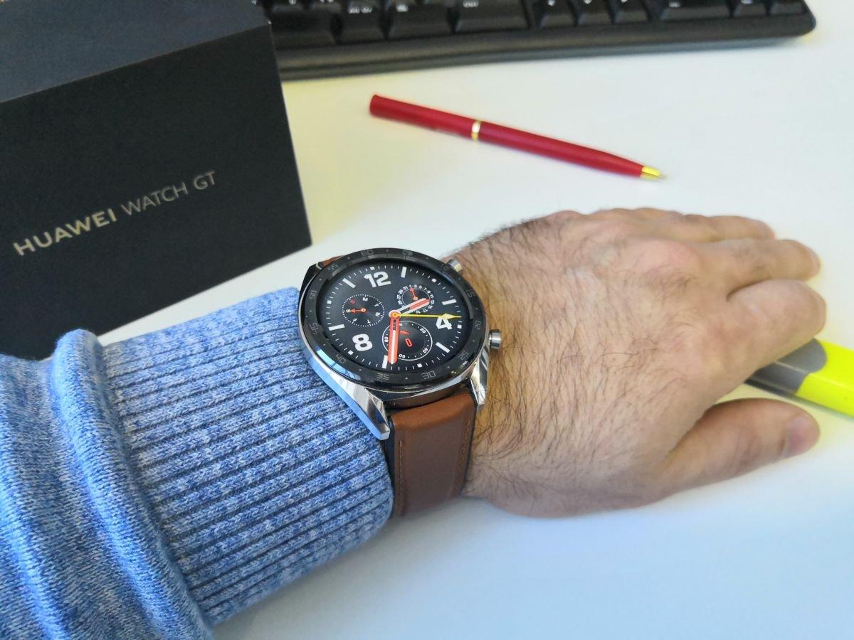 Месяц с Huawei Watch GT: первые впечатления