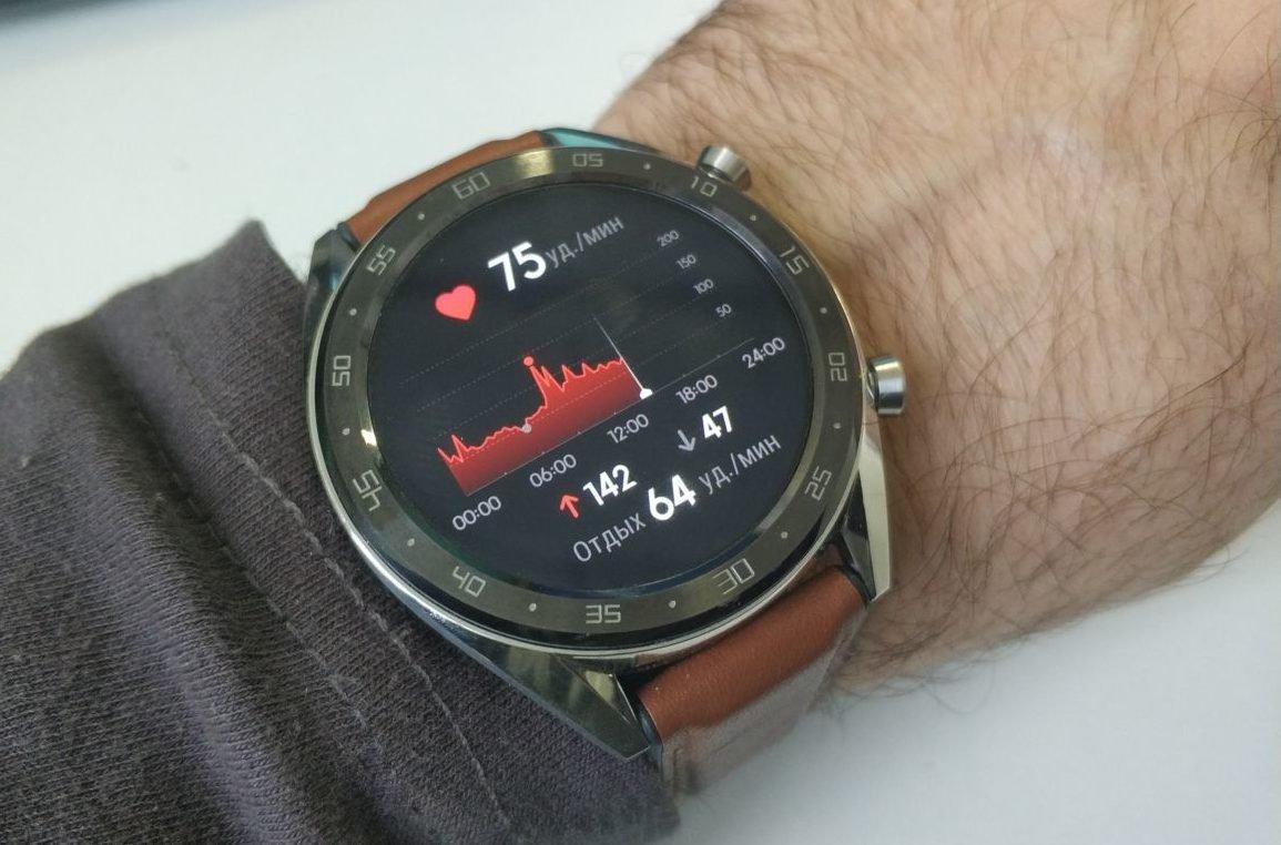 Обзор и тест смарт-часов Huawei Watch GT: красота и не только