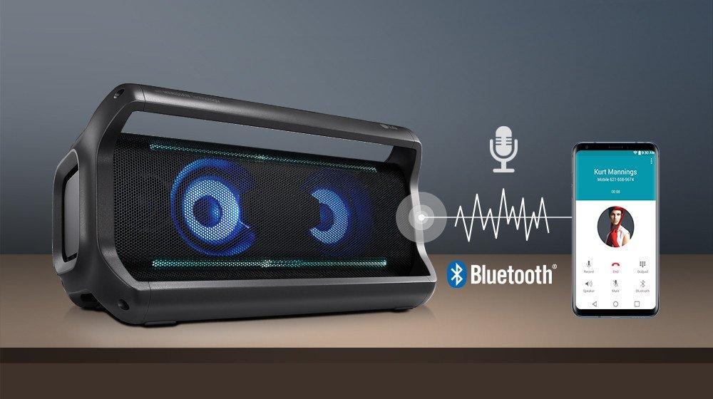 Bluetooth-динамик LG PK7: камень, который поет